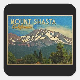 Mount Shasta Vintage Stickers