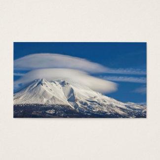 ~ Mount Shasta's Lenticulars ~ Business Card