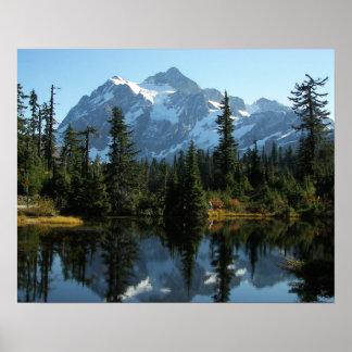Mount Shuksan Landscape Photo Poster