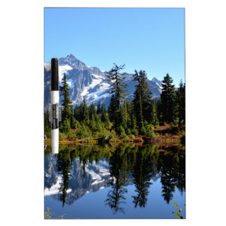 Mount Shuksan on a Sunny Day Dry Erase Board