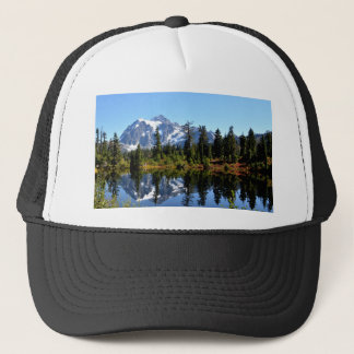 Mount Shuksan on a Sunny Day Trucker Hat