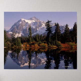 Mount Shuksan Reflection Poster