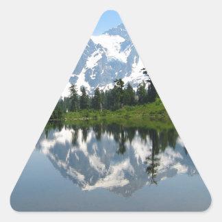 Mount Shuksan Triangle Sticker