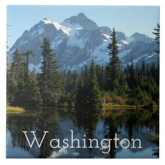 Mount Shuksan, Washington Photo Tile