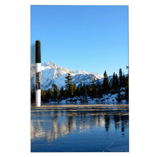 Mount Shuksan with Picture Lake Dry-Erase Whiteboards