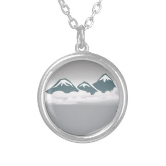 mount silver plated necklace