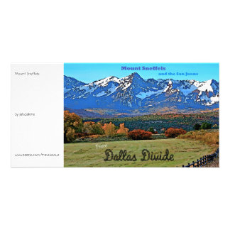 Mount Sneffels, Vintage Style Photo Cards