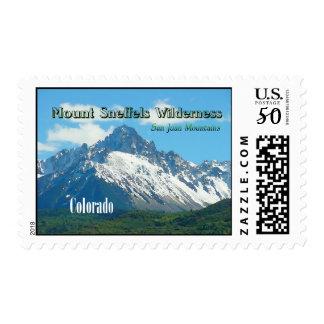 Mount Sneffels Wilderness Vintage Style Postage