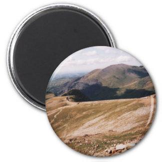 Mount Snowdon 2 Inch Round Magnet