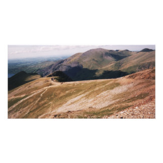 Mount Snowdon Photo Greeting Card