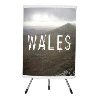 Mount Snowdon Wales Tripod Lamp