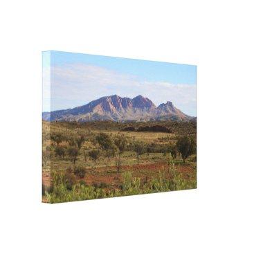 franwestphotography Mount Sonder,  Central Australian Outback Canvas Print