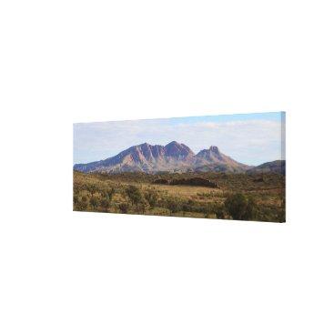 franwestphotography Mount Sonder, Outback, Central Australia Canvas Print
