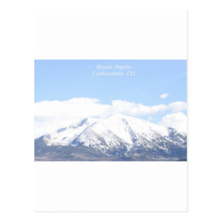 Mount Sopris Carbondale, CO Postcard