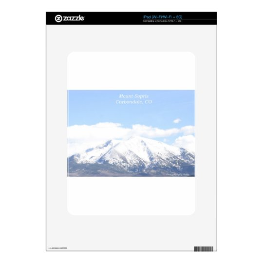 Mount Sopris Carbondale, CO Skins For The iPad