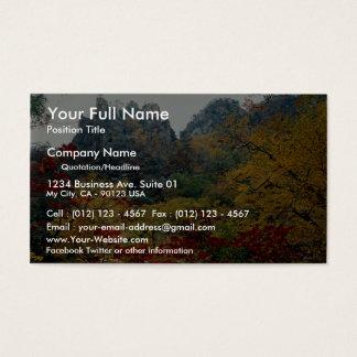 Mount Soraksan in fall Business Card