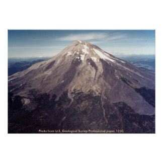 Mount St Helens 1979 Print