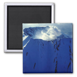 Mount St. Helens 2 Inch Square Magnet