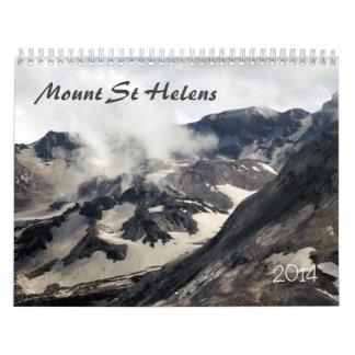 Mount St Helens Wall Calendar