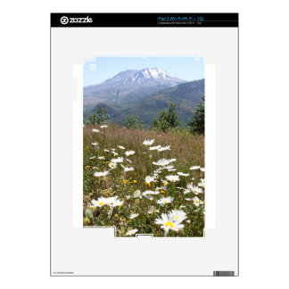 Mount St. Helens Decal For iPad 2
