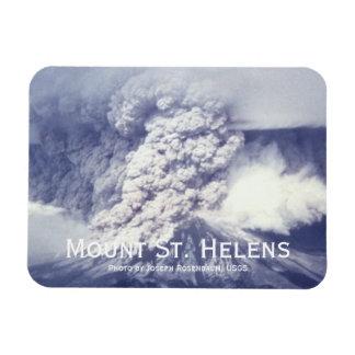 Mount St. Helens Eruption Magnet