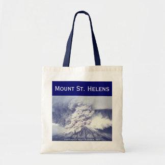 Mount St. Helens Eruption Tote Bag