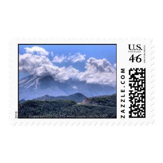 Mount St. Helens HDR Postage Stamp