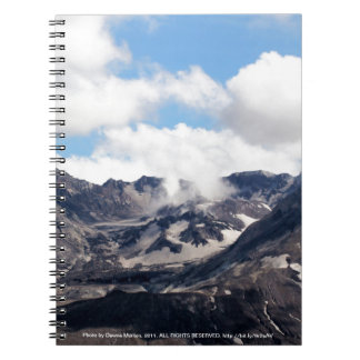 Mount St Helens lava dome 2 Notebook