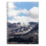 Mount St Helens lava dome 2 Spiral Notebook