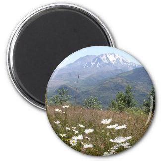 Mount St. Helens Magnet