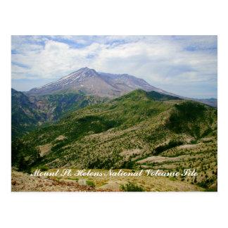 Mount St. Helens National Volcanic Site Postcard