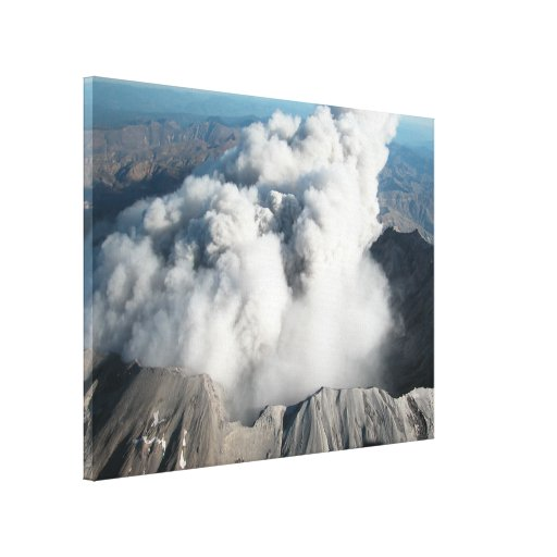 Mount St. Helens - October 2004 Stretched Canvas Prints