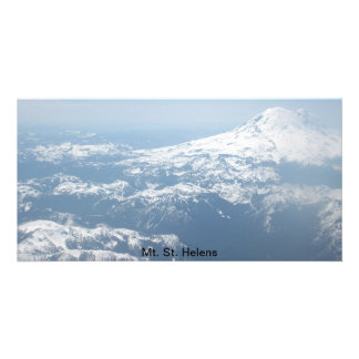 Mount St. Helens photo Photo Greeting Card