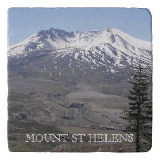 Mount St Helens Photo Trivet