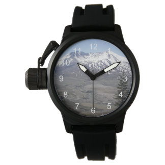 Mount St Helens Photo Wristwatch