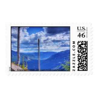 Mount St. Helens Renewal HDR Postage Stamp