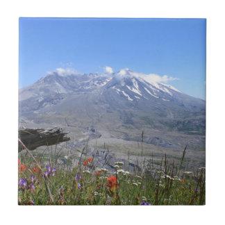 Mount St. Helens Ceramic Tiles