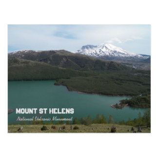 Mount St Helens Volcanic Monument Photo Postcard