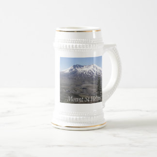 Mount St Helens Volcano Beer Stein