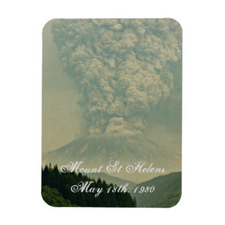 Mount St Helens Volcano Eruption Photo Magnet