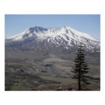 Mount St Helens Volcano Photo Poster
