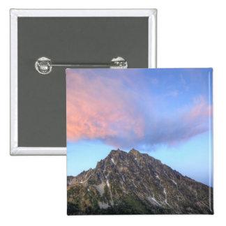 Mount Stuart, at sunset 2 Inch Square Button