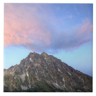 Mount Stuart, at sunset Ceramic Tile