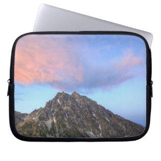 Mount Stuart, at sunset Laptop Sleeves