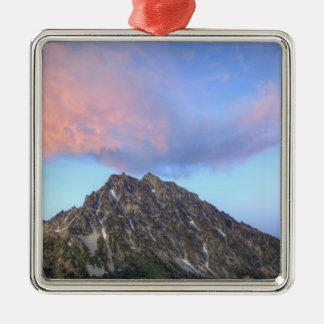 Mount Stuart, at sunset Metal Ornament