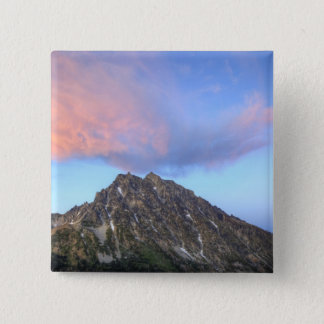 Mount Stuart, at sunset Pinback Button