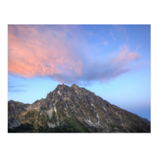 Mount Stuart, at sunset Postcard