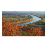 Mount Sugarloaf Connecticut River Valley Autumn Poster
