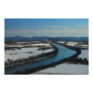 Mount Sugarloaf Connecticut River View Print