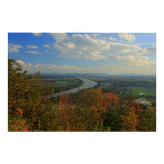 Mount Sugarloaf in Early Autumn Print